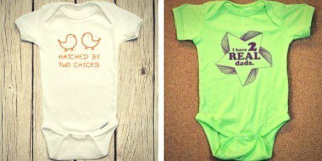 Pride Onesies: Babies Can Wear The Rainbow Loud And Proud,