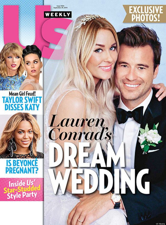 Lauren Conrad's Wedding Dress Is A Traditional