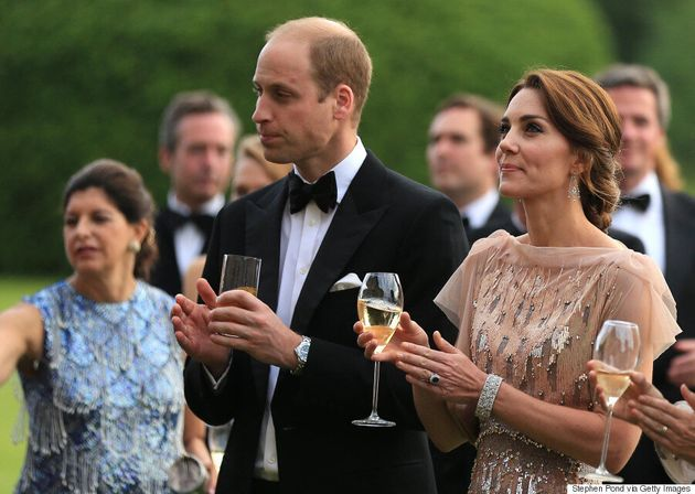Kate Middleton Attends London's EACH Gala In 5-Year-Old Jenny Packham