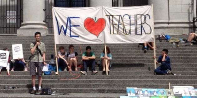 B.C. Teachers' Strike Was About Values, Not