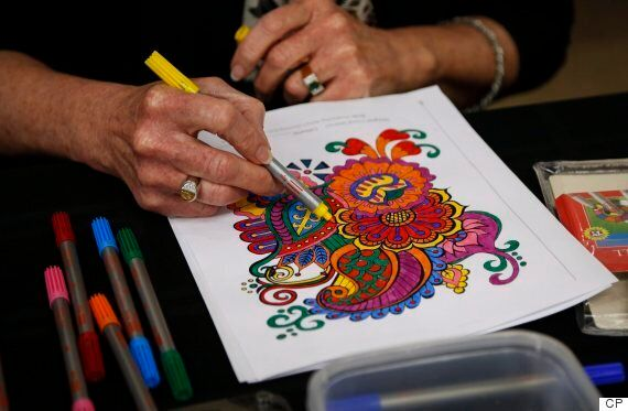 Adult Colouring Book Sales Surge In