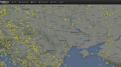 This Is What The Airspace Over Ukraine Looks Like Right