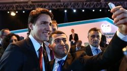 Trudeau Pushes Growth, Gets Mobbed For Selfies At