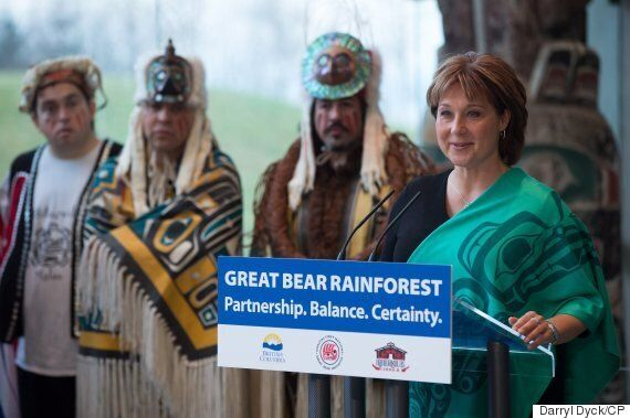 B.C.'s Great Bear Rainforest To Be Partly Protected From