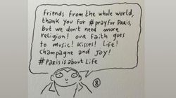 Charlie Hebdo Cartoonist Asks For More Music, Kisses After Paris