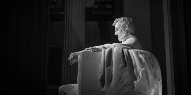 The Lincoln Memorial in