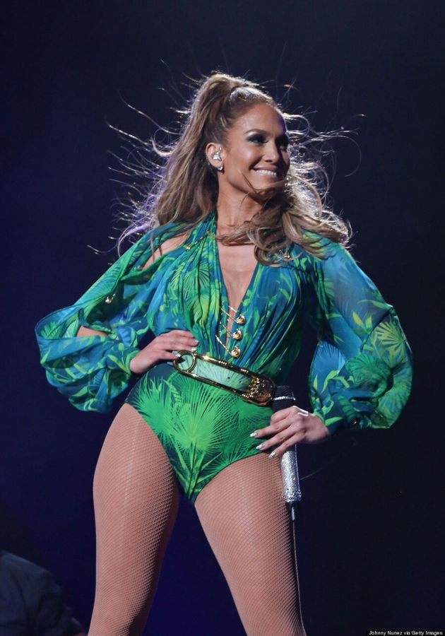 Jennifer Lopez (Sort Of) Brings Back Her Iconic Grammy Versace