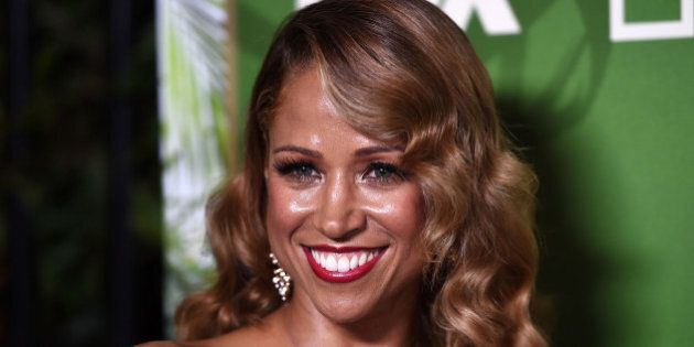 LOS ANGELES, CA - AUGUST 25: Actress Stacey Dash arrives at the FOX, 20th Century FOX Television, FX...