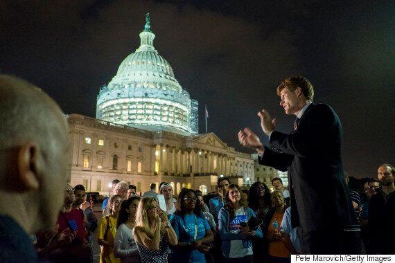 Democrats Protest All Night Over Gun Control, Republicans Don't