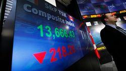 TSX Dives, Dow Jones