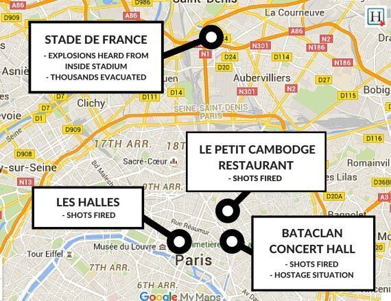 Paris Shootings, Hostage-Taking And Explosions Kill At Least 127