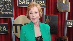 Carol Burnett Rocks UGGs On The SAG Red
