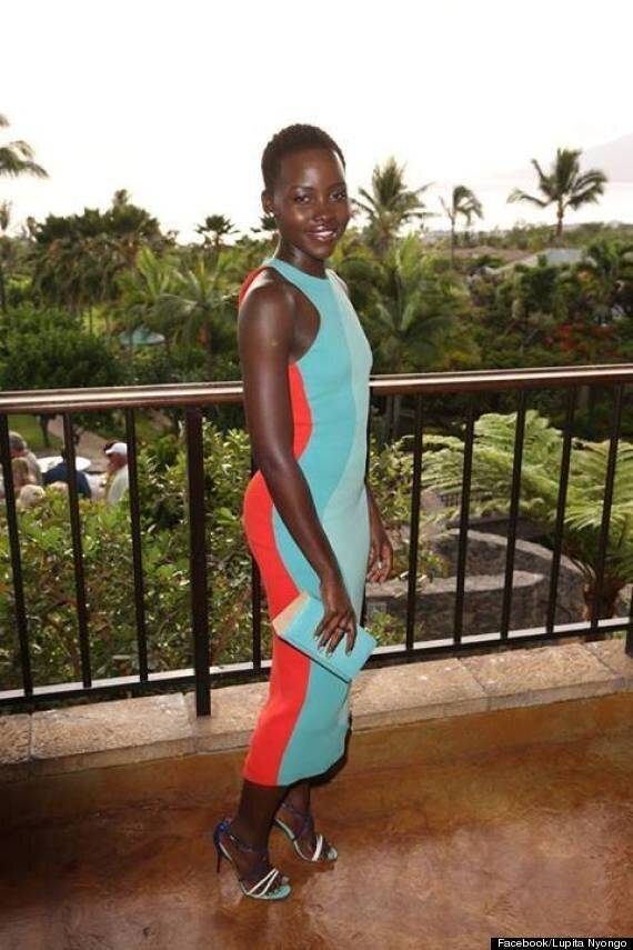 Lupita Nyong'o's Rocks The Perfect Summery Outfit At Maui Film Festival