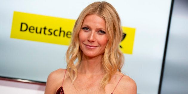 FILE - This Feb. 1, 2014 file photo shows American actress Gwyneth Paltrow at the Goldene Kamera (Golden Camera) media awards in Berlin, Germany. Paltrow took to Goop and the lifestyle site's regular weekly email Friday, March 28, to offer thanks to supporters standing by her and her