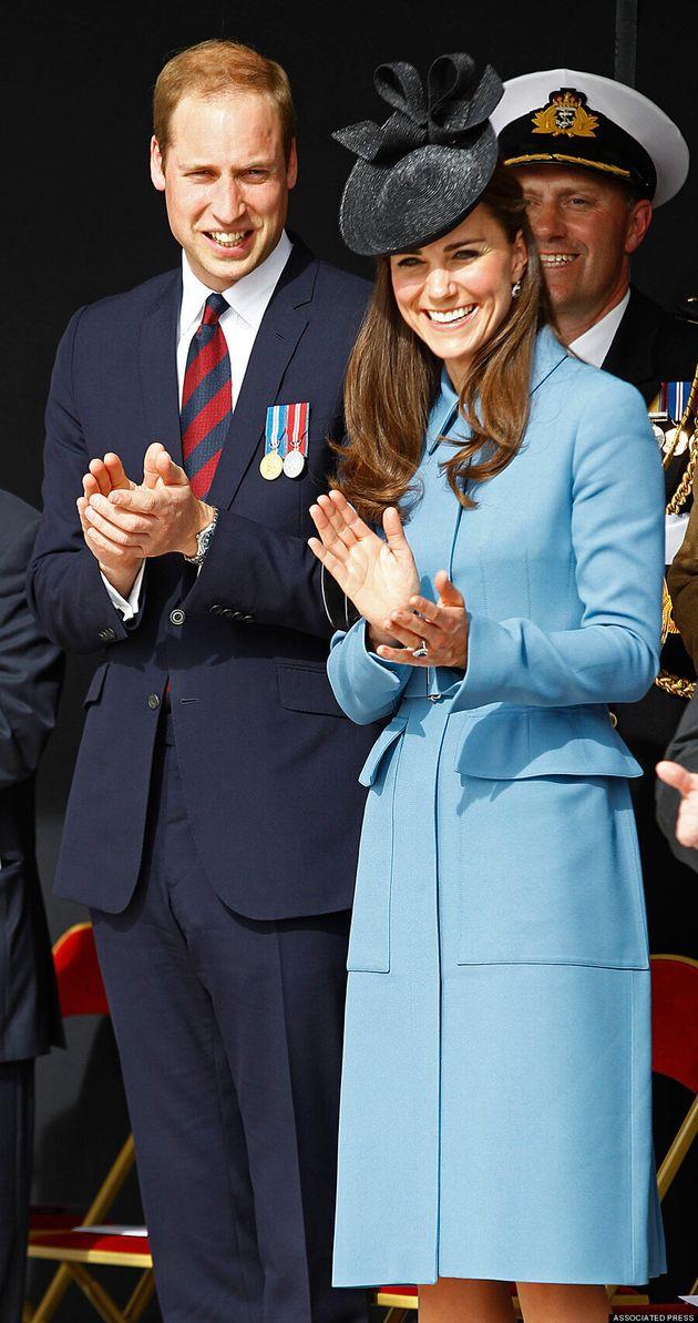 Kate Middleton Looks Lovely In Blue Coat For D-Day