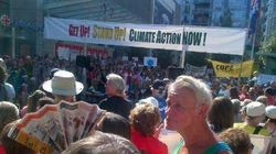 Vancouver Climate Change Protest Draws