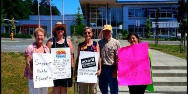 B.C. Teachers Strike 2014: Gov't Seeks Order Forcing Teachers To Mark