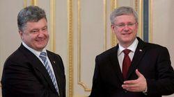 Harper Meets With New Ukrainian