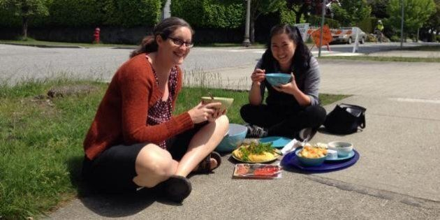 Why B.C. Teachers Are Eating Lunch On The