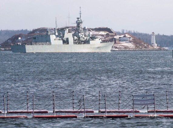 HMCS Fredericton Crew On NATO Mission Adapting To Life At