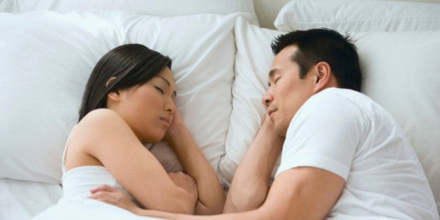 Couples' Sleeping Patterns Reflects Wife's Happiness: