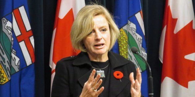 Premier Rachel Notley Says Canada Needs To Become A World Leader On Climate