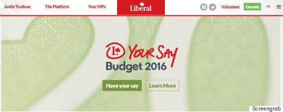 Liberals' Survey On Federal Budget Doesn't Pass 'Ethics Test':