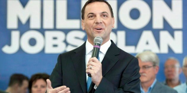Ontario Election 2014: Hudak Says He Offers Message Of