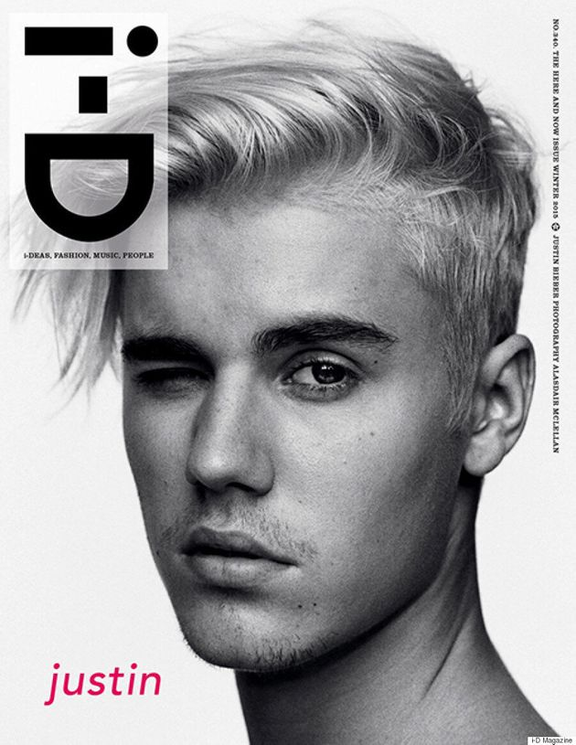 Justin Bieber Bares It All For 'The Here And Now' Issue Of i-D