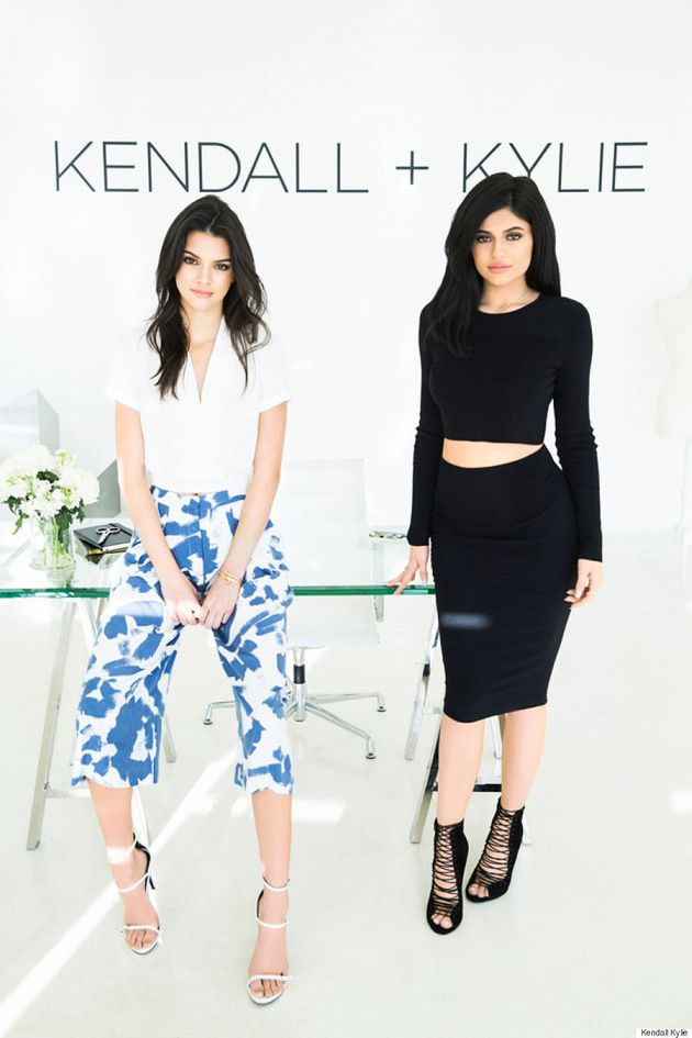 Kendall And Kylie Jenner Debut Clothing Line - See All The Looks