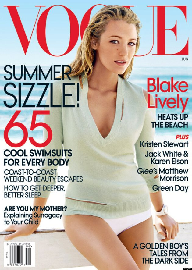 Blake Lively's Third Vogue Cover Is Cowgirl