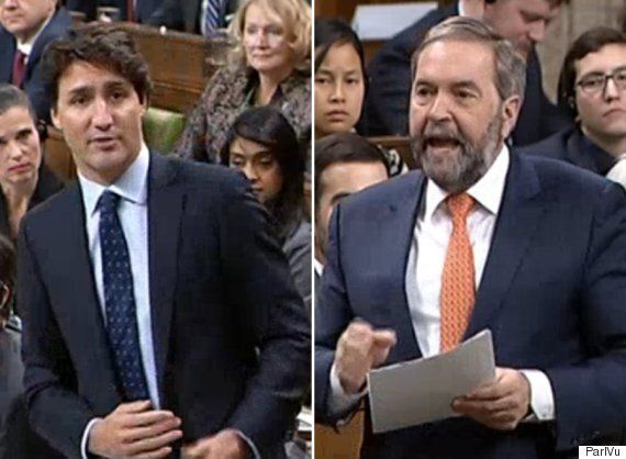 Mulcair Grills Trudeau On TPP, Asks If PM Often Signs 'Things He Doesn't Agree