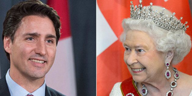Justin Trudeau, Queen Elizabeth To