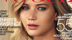 Jennifer Lawrence Keeps Things Natural On The Cover Of