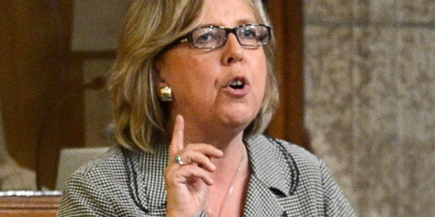 Elizabeth May Backs Green Party Motion Condemning 'Illegal' Israeli