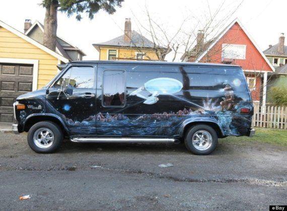 Star Trek Boogie Van For Sale, Not For Shy Drivers