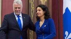 Quebec Premier Shuffles
