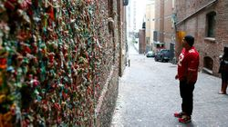 Seattle's Famous 'Gum Wall' Gets Cleaned
