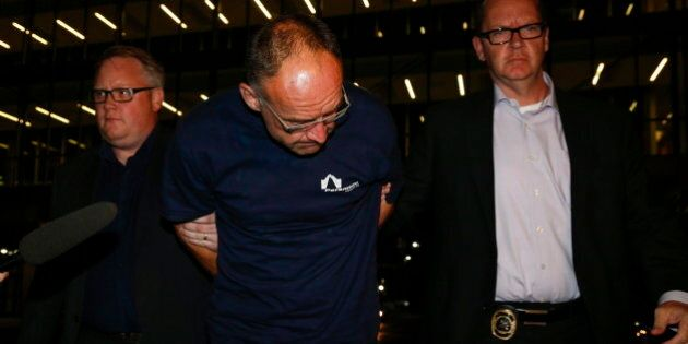 Douglas Garland 'Perp Walk' Makes Him Look Guilty:
