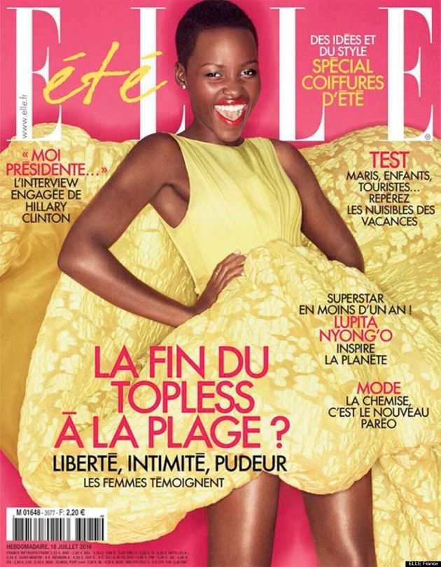 Lupita Nyong'o: ELLE France's Latest Summer Cover