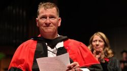 Veteran Who Survived Axe Attack Receives Honorary Doctorate In