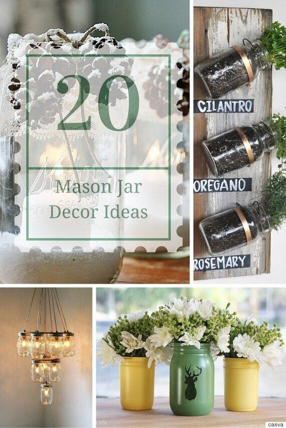 20 Jar Decor Ideas That Are So Simple To