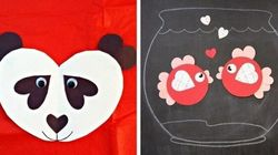 10 Heart Animals Your Kids Can Make For Valentine's