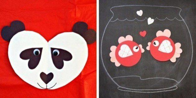Valentine's Day Crafts: 10 Ways To Make Animals With