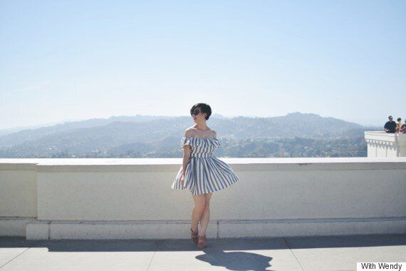 With Wendy: DIY Off The Shoulder