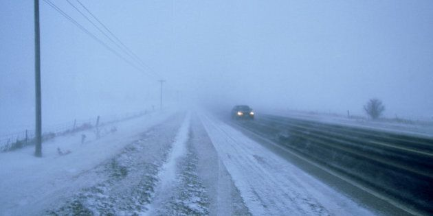 snow storm, ontario,