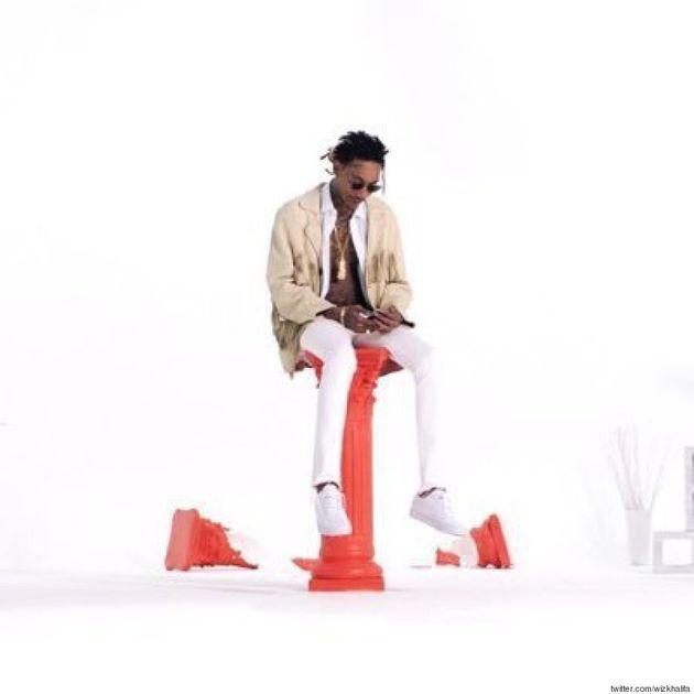 Kanye West Throws Major Shade At Wiz Khalifa, Admires His 'Cool Pants' While Doing