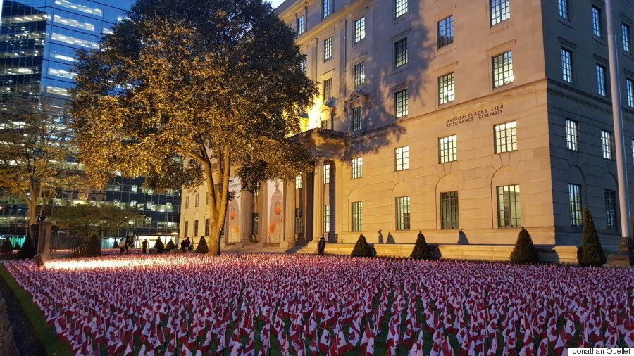 Garden Of Flags Honours Fallen Canadians For Remembrance