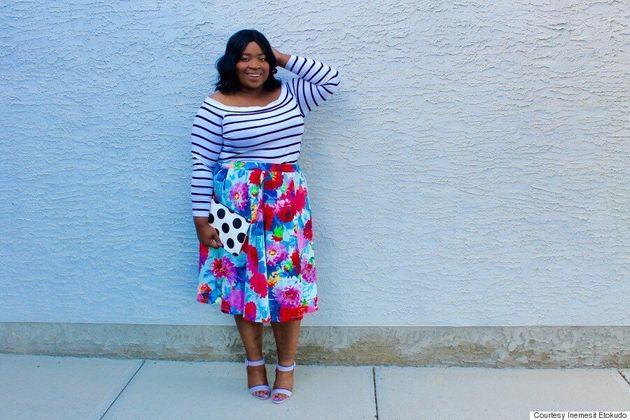 Plus-Size Blogger Inemesit Etokudo Is Changing The Face Of Fashion In