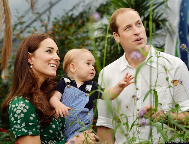 Kate Middleton Wears Recycled Dress For Prince George Family